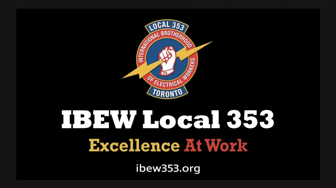 IBEW-353 National TV